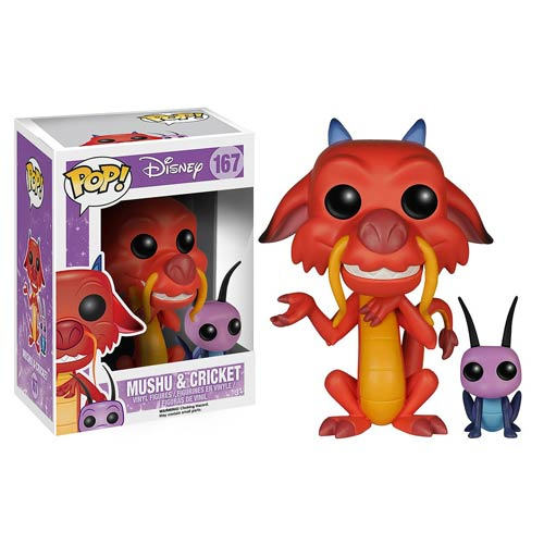 Funko Pop! Disney 167: Mushu & Cricket