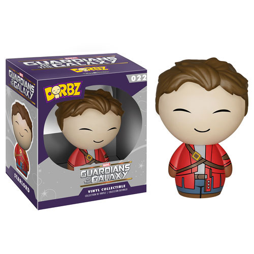 Dorbz 22: Guardians of the Galaxy - Star-Lord Unmasked [Vinyl Figure]