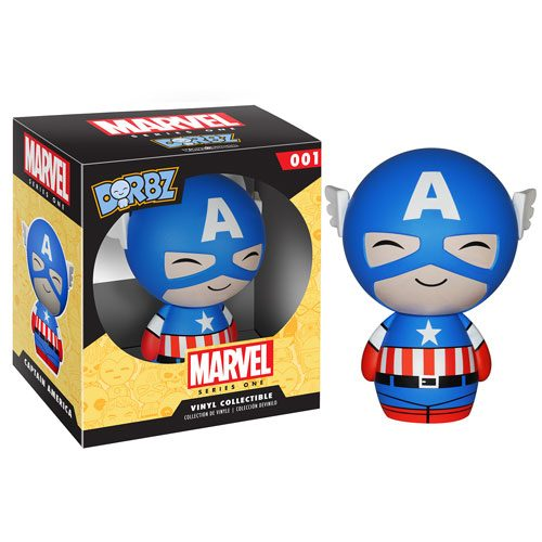Dorbz 01: Captain America (Vinyl Figure)