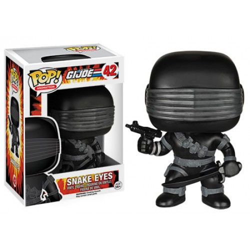 Funko Pop! Animation 42: GI Joe – Snake Eyes