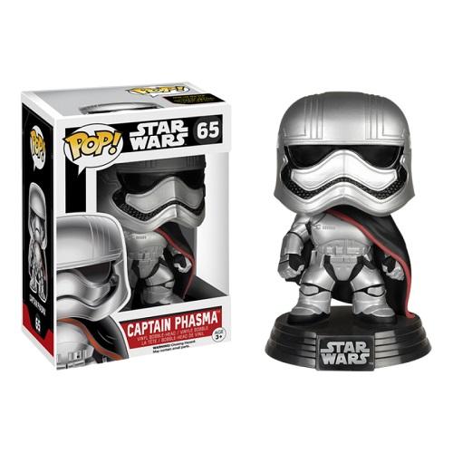 Funko Pop! Star Wars 65: The Force Awaken - Captain Phasma