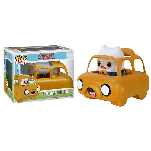 Funko Pop! Rides 14: Adventure Time – Jake Car with Finn