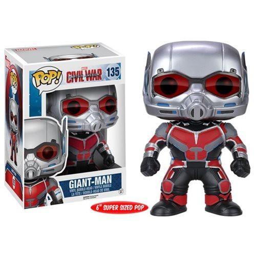 Funko Pop! Marvel 135: Civil War Captain America 3 - Giant Man