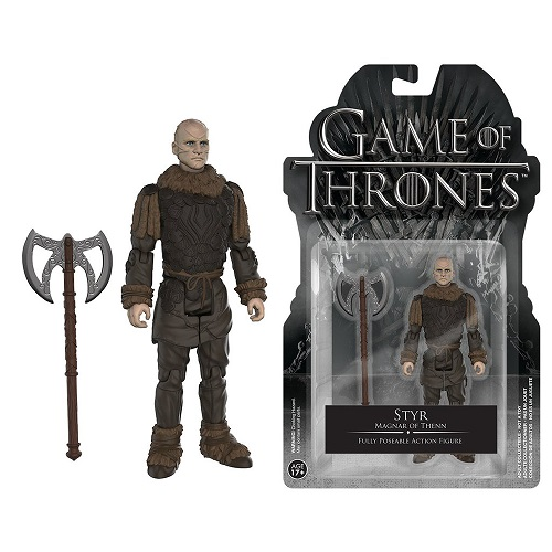 Action Figure: Games of Thrones – Styr
