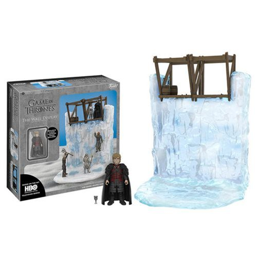 Action Figure: Games of Thrones - Wall Playset