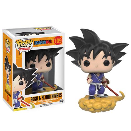 Funko Pop! Anime 109: Dragonball Z – Goku & Nimbus