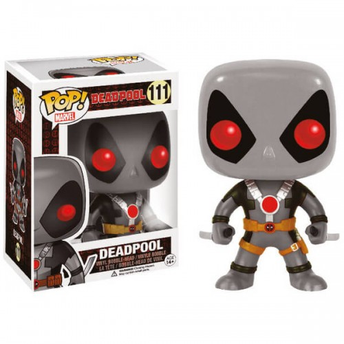 Funko Pop! Marvel 111: Deadpool Grey Suit STGCC