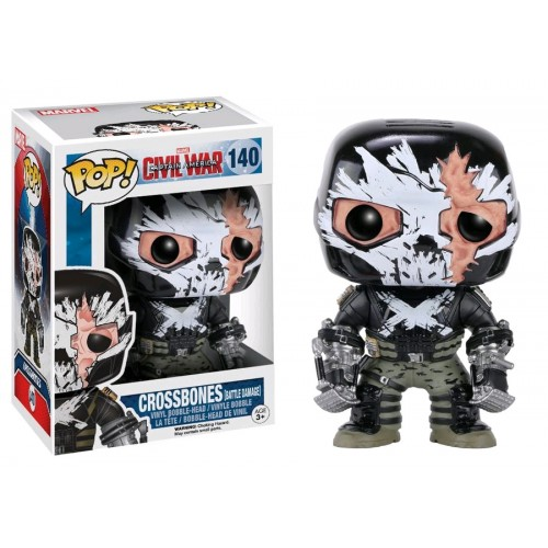Funko Pop! Marvel 140: Crossbones Damage (STGCC)