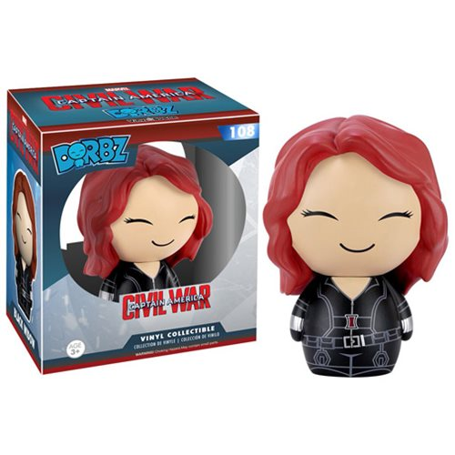 Dorbz 108: Captain America 3 Civil War – Black Widow