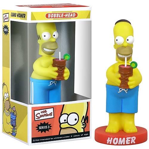 Wacky Wobbler: Simpson – Luau Homer