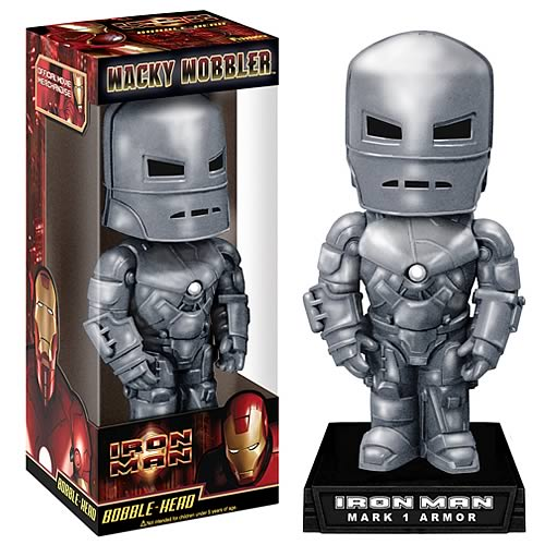 Wacky Wobbler Marvel: Iron Man Mark I