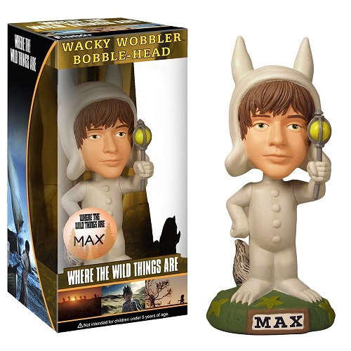 Bobble Head Wacky Wobbler: Where the Wild Things Are Movie - Max