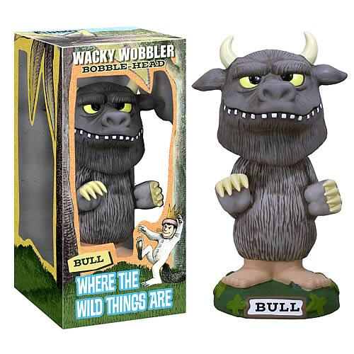 Wacky Wobbler: Where The Wild Things Are - Bull