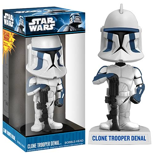Wacky Wobbler: Star Wars - Clone Trooper Denal (Wal-Mart Exclusive)