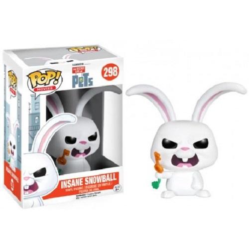 Funko Pop! Movies 298: Pets - Insane Snowball (Ex)