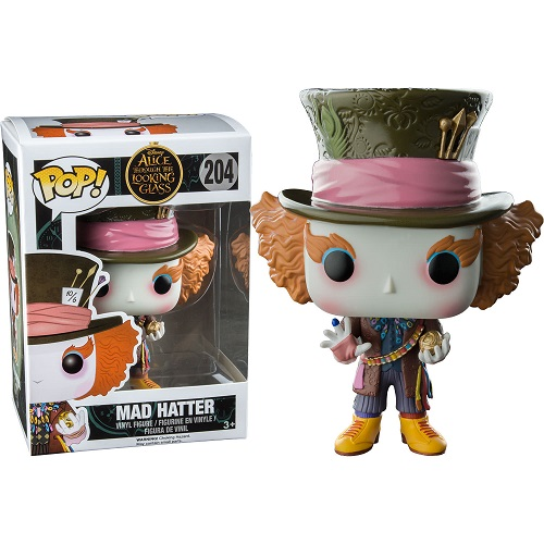 Funko Pop! Disney 204: Alice Through the Looking Glass - Mad Hatter (STGCC)
