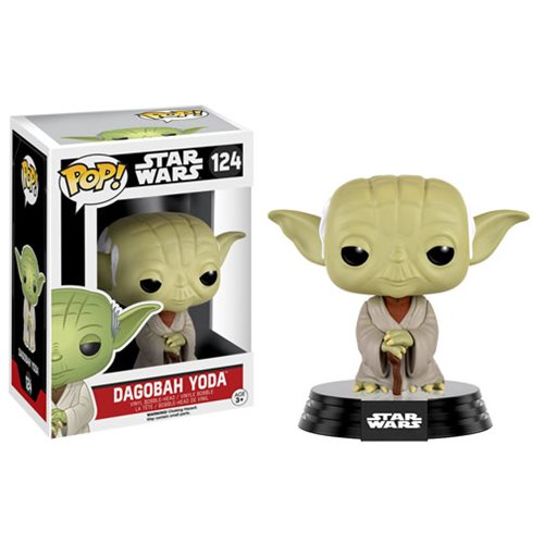 Funko Pop! Star Wars 124: Dagobah Yoda