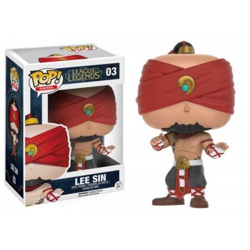 Funko Pop! Games 03: League of Legends - Lee Sin