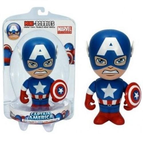 Mini Bobbles: Easter Marvel - Captain America