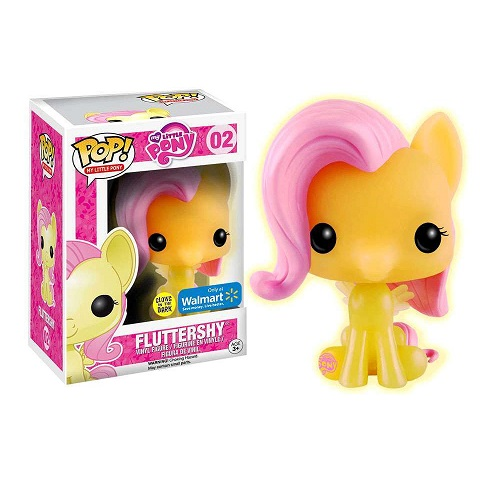 Funko Pop! My Little Pony 02: Fluttershy [GitD] (Walmart Ex)