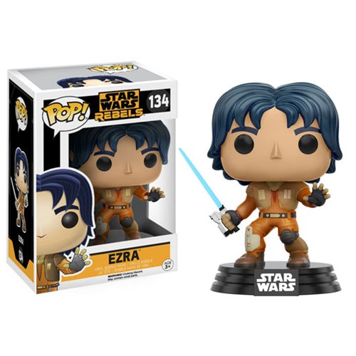 Funko Pop! Star Wars 134: Star Wars Rebels – Erza Bridger