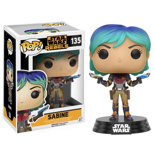Funko Pop! Star Wars 135: Star Wars Rebels - Sabine