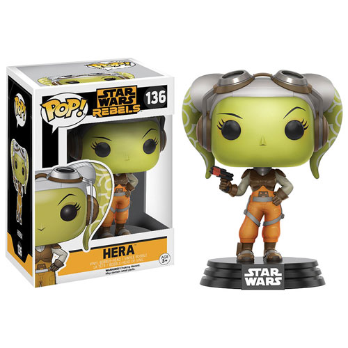 Funko Pop! Star Wars 136: Star Wars Rebels - Hera