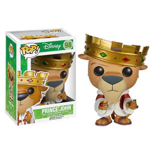Funko Pop! Disney 98: Robin Hood - Prince John (Exclusive)