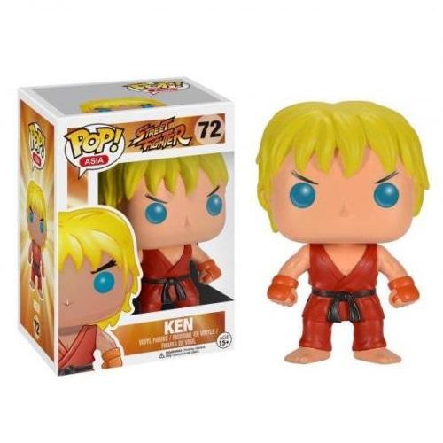 Funko Pop! Asia 72: Street Fighter - Ken