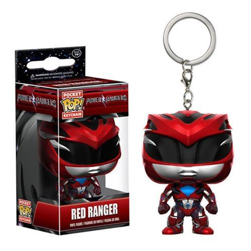 Pocket Pop! Key Chain : Power Rangers - Red ranger