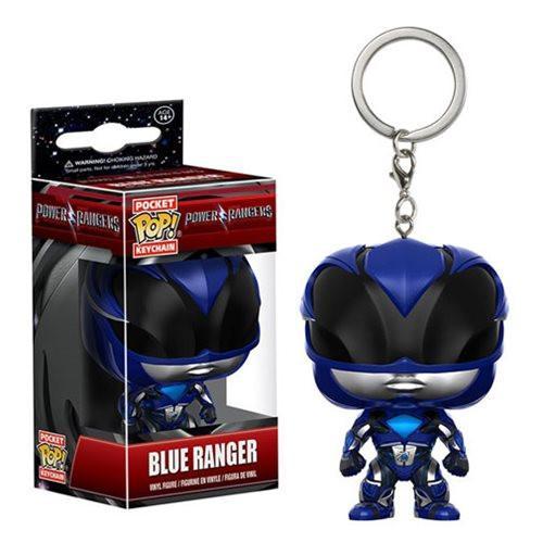 Pocket Pop! Key Chain: Power Rangers - Blue ranger