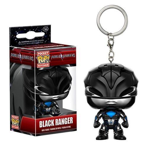 Pocket Pop! Key Chain: Power Rangers - Black ranger