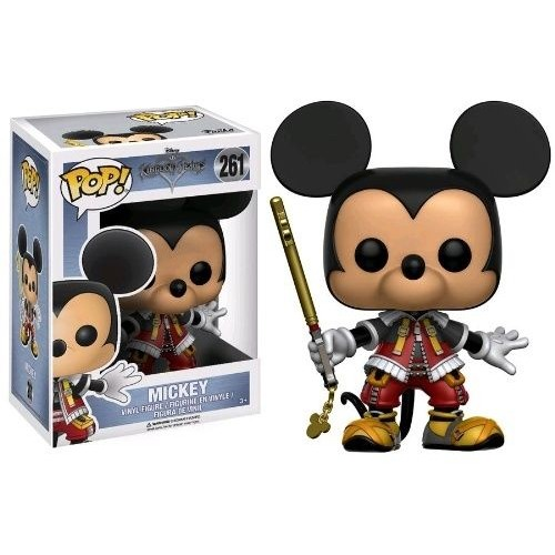 Funko Pop! Disney 261: Kingdom Hearts – Mickey