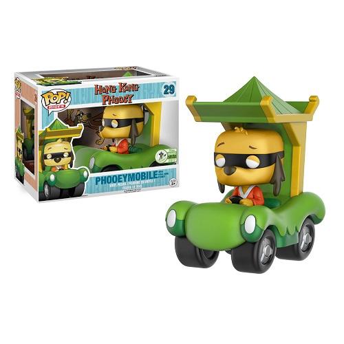 Funko Pop! Rides 29: Hong Kong Phooey in Phooeymobile (ECCC17)