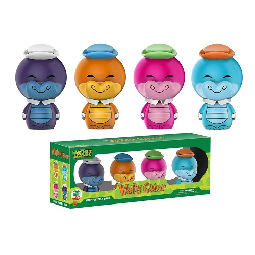 Dorbz:  Hanna Barbara - Wally Gator (Rainbow) 4 Pack