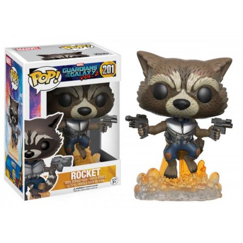 Funko Pop! Marvel 201: Guardians of the Galaxy 2 – Rocket
