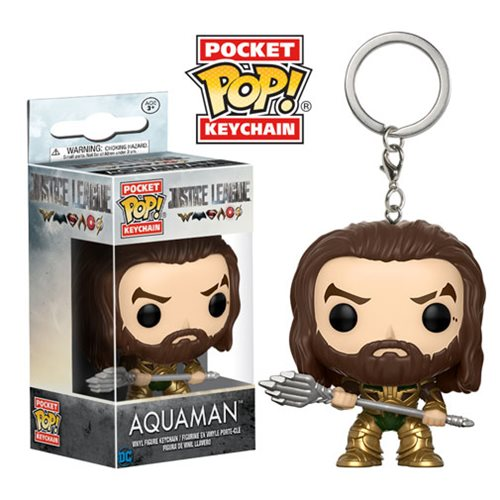 Pocket Pop! Key Chain: DC Justice League - Aquaman