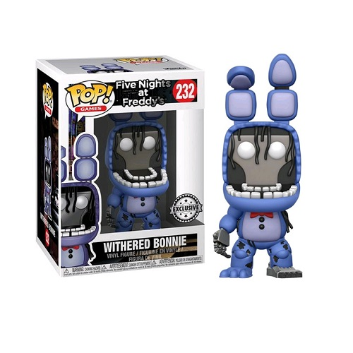 Funko Pop! Games 232: Five Nights At Freddy's – Withered Bonnie (iEX)