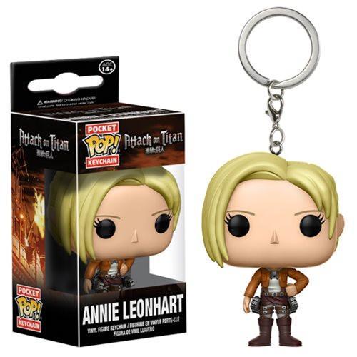 Pocket Pop! Key Chain: Attack on Titan - Annie Leonhart