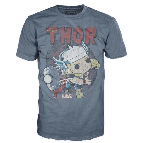 Pop Tees: Thor Indigo w Hangar (XL)