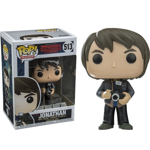 Funko Pop! TV 513: Stranger Things - Jonathan with Camera