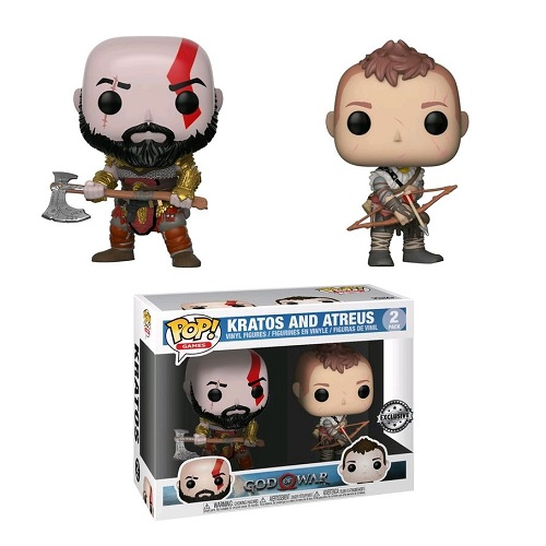 Funko Pop! Games: Gears of War - Kratos & Atreus [2 Pack] (iEX)