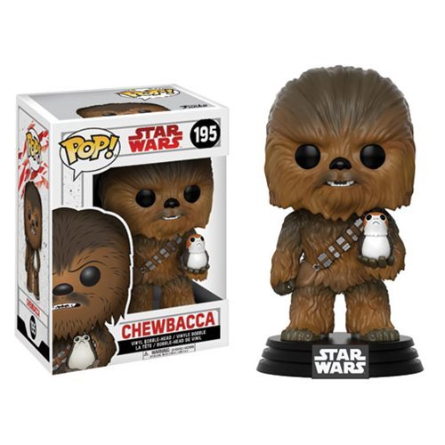 Funko Pop! Star Wars 195: The Last Jedi – Chewbacca