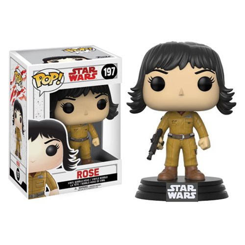 Funko Pop! Star Wars 197: The Last Jedi – Rose
