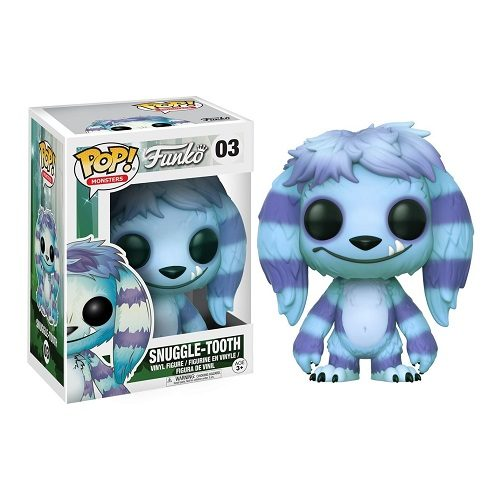 Funko Pop! Monsters 03: Snuggle-Tooth (EX)