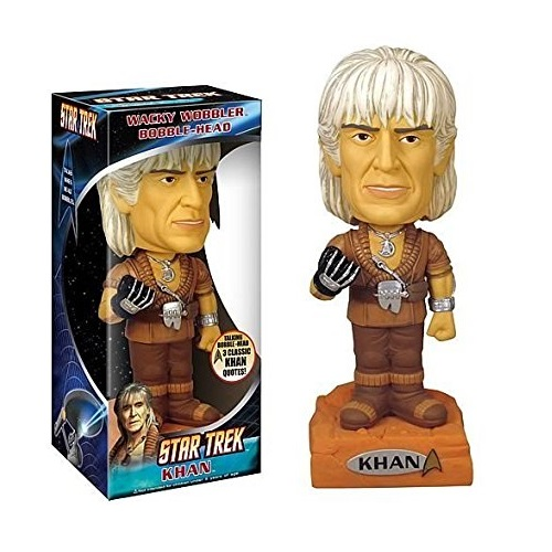 Wacky Wobbler: Star Trek - Khan Talking