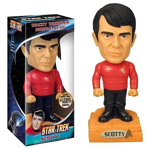 Wacky Wobbler: Star Trek – Talking Scotty