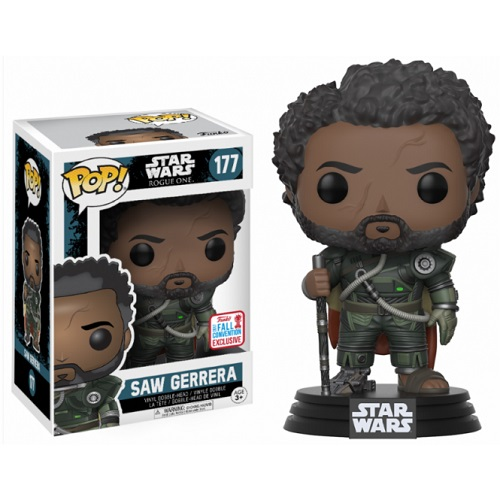 Funko Pop! Star Wars 177: SWR1 – Saw Gerrera