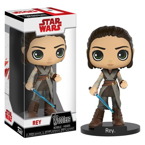 Wobbler: Star Wars The Last Jedi - Rey with Lightsaber