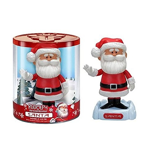 Wacky Wobbler: Rudolph the Red-Nosed Reindeer - Santa